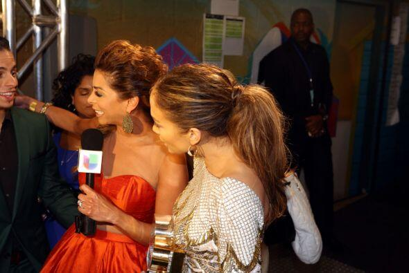 "Lourdes echó buen chisme con la ""Diva del Bronx""."