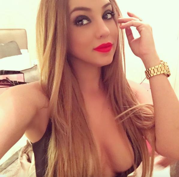 Ella es Anabel García, la sensual pareja del ex Chiapas Jhon Córdoba Cap...