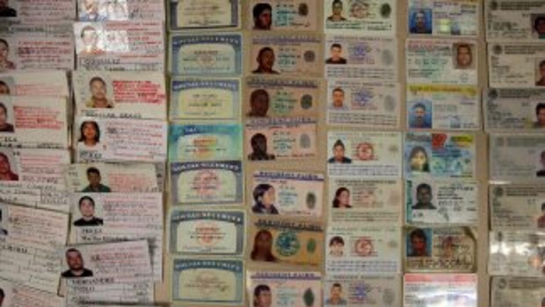 Miles de documentos de identidad eran confeccionados por la banda.