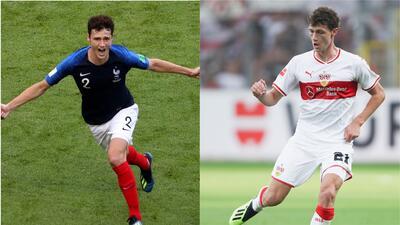 Pavard, de conquistar Rusia 2018 con Francia a colista de la Bundesliga