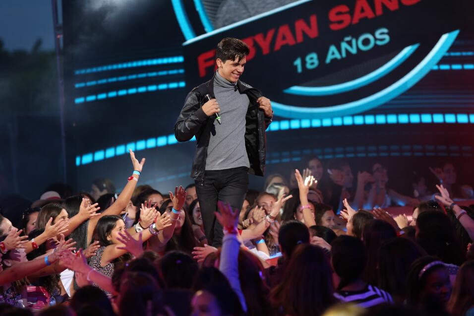 Fabyan nos impresionó a todos con sus movimientos. Su audición no fue la...