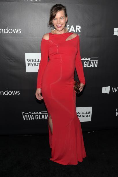 La que lució verdaderamente impactante fue Milla Jovovich, a quien cada...