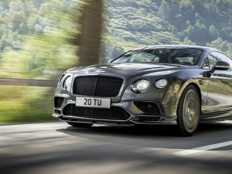 Bentley Contiental GT Supersports 2017