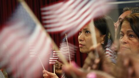 Ceremonia de naturalización.