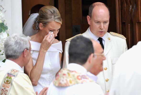 Un poco opacada quedó la boda del Príncipe Alberto II y Ch...