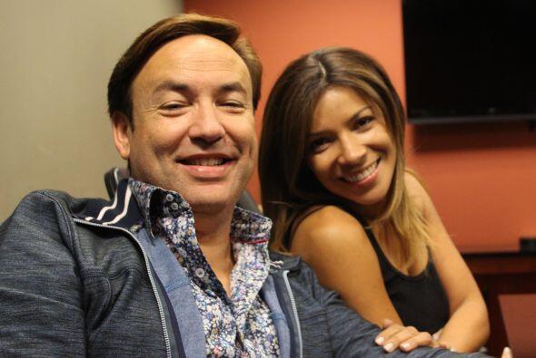 Javier Romero,  personalidad, Amor 107.5 y Paula Arcila,  personalidad,...