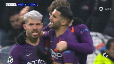 ¡GOOOL! Sergio Agüero anota para Manchester City