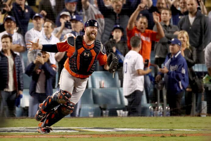 Los Astros de Houston: ¡Campeones de la Serie Mundial! gettyimages-86920...