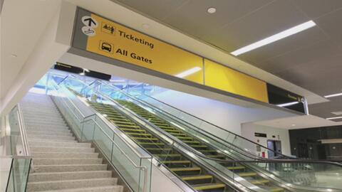 Reabren la estación de trenes y autobuses del Puente George Washington e...