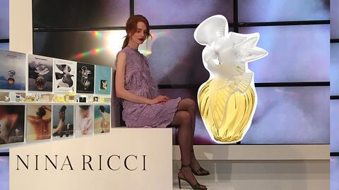 El perfume L'Air du Temps de Nina Ricci, nació en 1948.