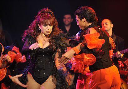 Y después se puso a bailar frente a la jueza Cristina Pereyra.