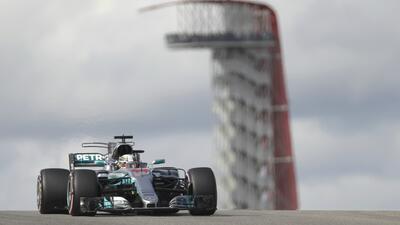 Lewis Hamilton logró su pole position 72 en la F1.