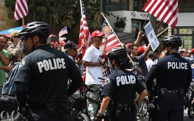 La ley SB4 de Texas otorga ñoderes extraordinarios a las polic&ia...