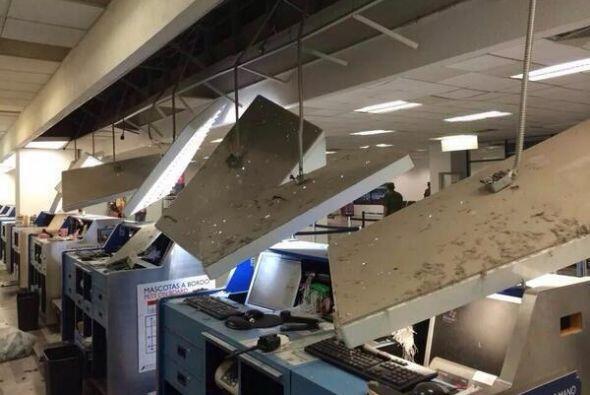 En México, se registraron daños en el aeropuerto de Tapachula tras sismo...