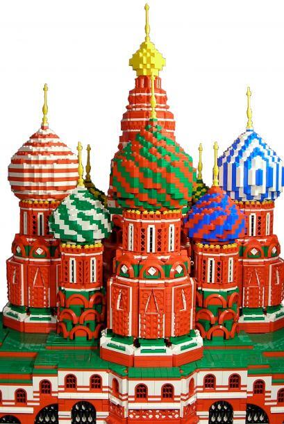 Y referencias mundiales como La catedral de San Basilio, en Rusia, famos...