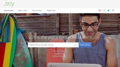 Con el dominio .soy, Google apuesta por el creciente mercado latino.