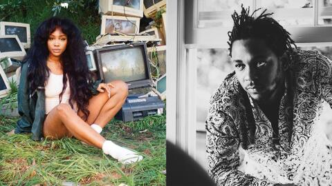 Recording artists Kendrick Lamar and SZA have teamed up to release 'All...