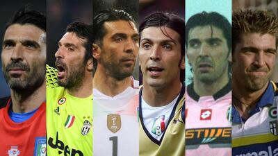 Rostros de Buffon, un icono del arco en Italia que cierra un extenso ciclo en la Juventus