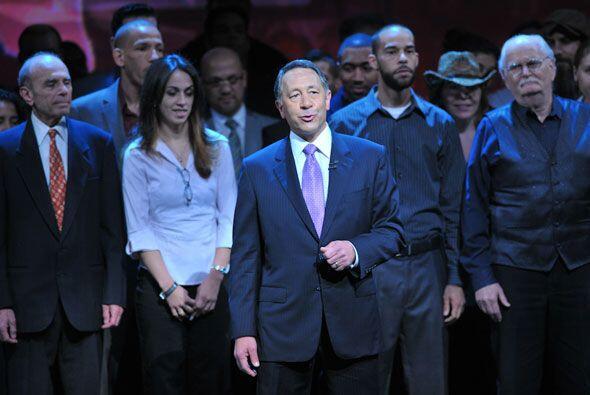 Joe Uva, el director general de la compañía Univision, presentó un gran...