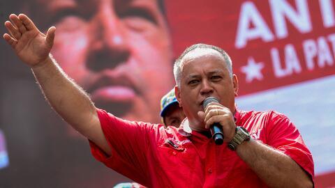 Diosdado Cabello usó palabras ofensivas contra la OEA por la Carta Democ...
