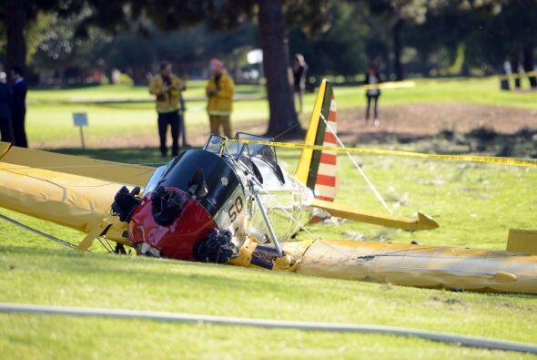Un par de horas después del accidente, el hijo del actor, Ben Ford, dijo...