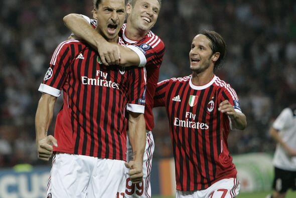 Zlatan Ibrahimovic fue el encargado de hacer el gol.