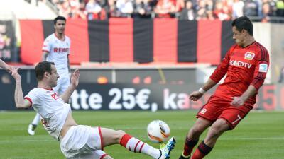 El Bayer Leverkusen de 'Chicharito' troleó al Colonia tras triunfo en el Clásico