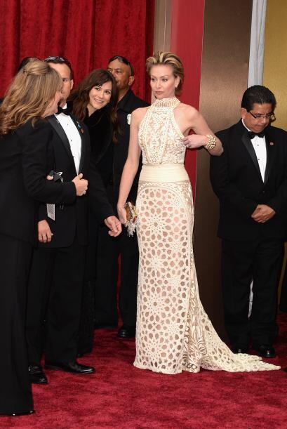 """La actriz Portia de Rossi en la celebración de los """"scar en el Hollywood..."""