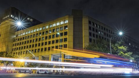 Las oficinas del FBI en la avenida Pennsylvania de Washington, DC.
