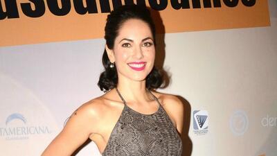 Bárbara Mori feliz con la hija de Sergio Mayer Mori