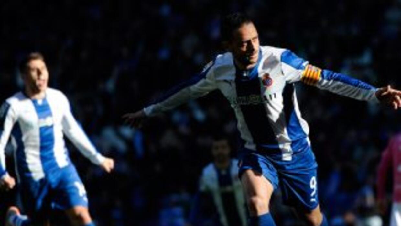 Sergio García anotó cuando al partido le quedaban pocos minutos.