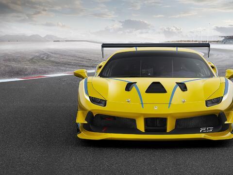 Este es el nuevo Ferrari 488 Challenge