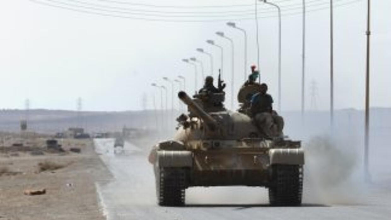 Los rebeldes libios postergaron una semana, al 10 de septiembre, el ulti...