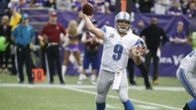 Matthew Stafford quieren un gran 2014 (AP-NFL).