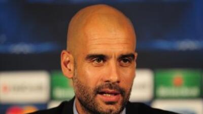 Pep Guardiola confía en que podrán remontar la desventaja de 1 - 0 ante...