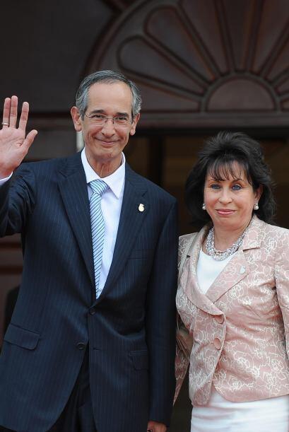 Como esposa de Colom, Torres estaba impedida de postular a la presidenci...