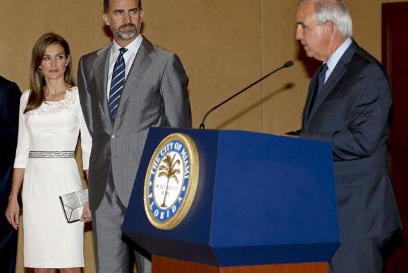 Los príncipes de Asturias, Felipe y Letizia, no solo estuvieron e...