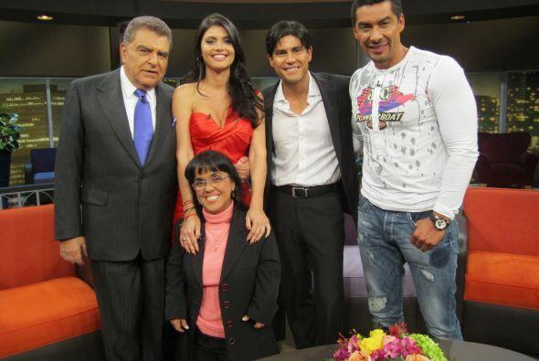 Don Francisco recibe este lunes a la bella Chiquinquira Delgado y Poncho...