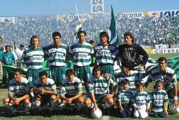 Santos no corrió con mucha suerte tras conseguir el campeonato en 1997,...