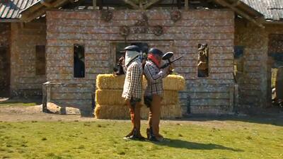 El reto: un duelo vaquero jugando 'gotcha'