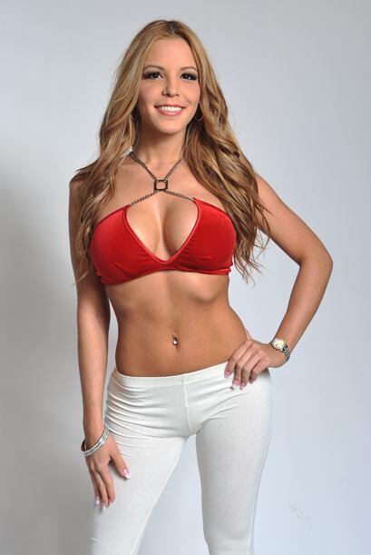 La bella Paola Corvea fue la ganadora del voto popular del Miss República.