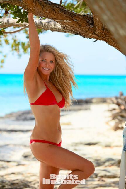 La supermodelo Christie Brinkle apareció ocho veces en la revista entre...