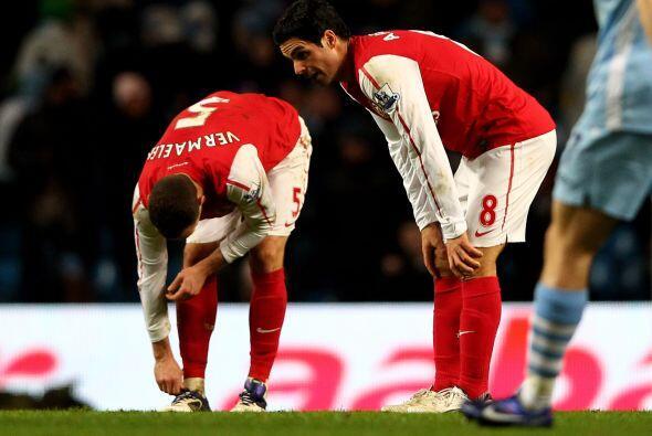 Arsenal se quedó con las manos vacías y el 3-1 le siginificó al Manchest...