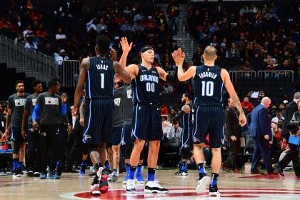 <b>Magic 124-108 Hawks: </b>tercer triunfo al hilo del equipo de Orlando que llegó 25 en lo que va de la temporada y lo mantiene en la pelea para llegar a los playoffs.