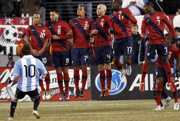 En su periplo de preparación a la Copa Oro, el seleccionado de las Barra...