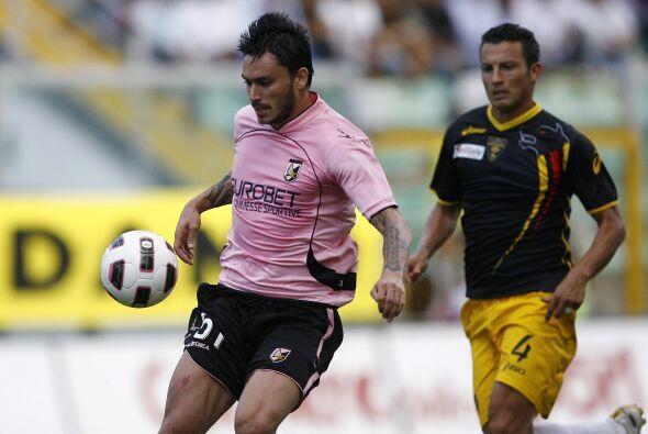 Palermo, después del contundente triunfo ante Juventus,recibió al Lecce.
