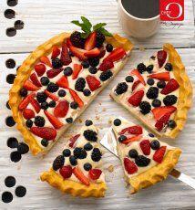 Tarta de chocolate blanco y frutas rojas: el chef Oropeza tuvo la idea g...