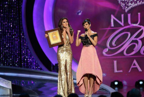 Si llegará a ganar sería la primera reina colombiana.