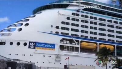 Al menos 300 personas se enfermaron en un crucero en EEUU