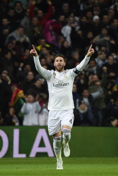 Ramos volvía a aparecer en un momento de apremio con un gol que le daba...